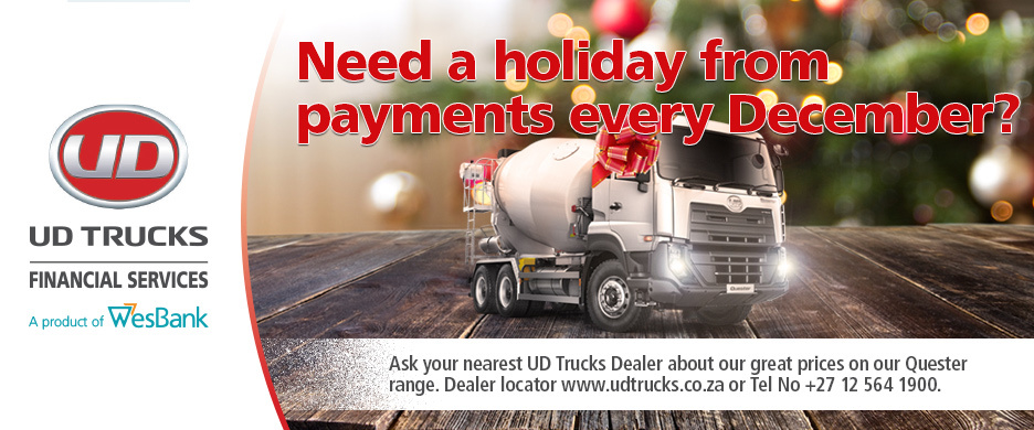 Enjoy a payment holiday every December